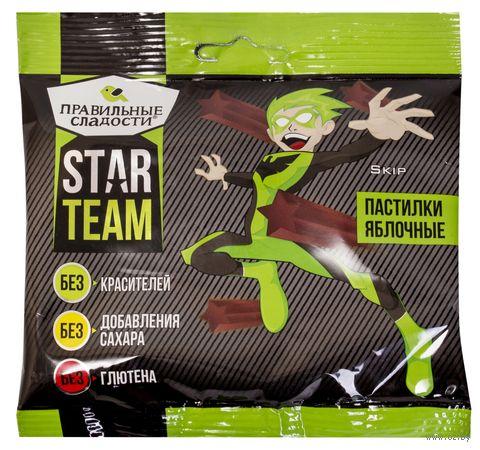 "Пастилки ""Star Team. Яблоко"" (70 г) — фото, картинка"