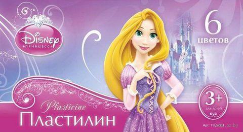 """Пластилин """"Disney. Принцессы"""" (6 цветов)"""