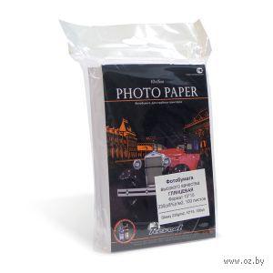 "Фотобумага ""Revcol"" глянцевая для струйной печати (230 г/м.кв 10х15 пачка,.100 л. пленка) — фото, картинка"