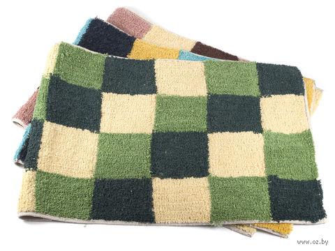 Коврик для ванной текстильный (50х80 см; арт. S-7310)