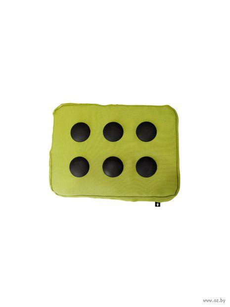 """Подставка для ноутбука """"Surfpillow Hightech"""" (зеленая, черная)"""