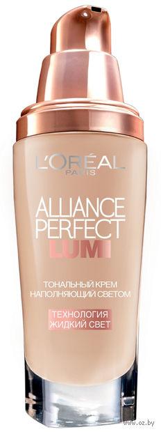 """Тональный крем для лица """"Alliance Perfect Lumi"""" (тон: N3, cветло-бежевый; 30 мл)"""