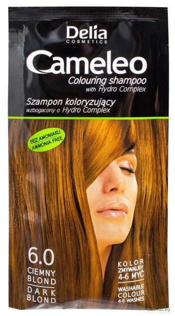 Оттеночный шампунь для волос (тон: 6,0; 40 мл)