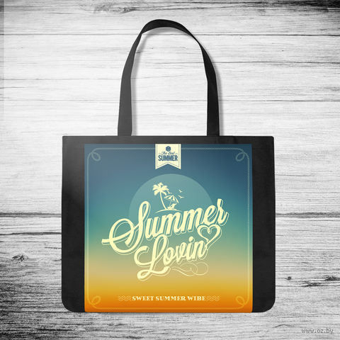 "Сумка-шоппер ""Summer lovin"" (арт. 7) — фото, картинка"