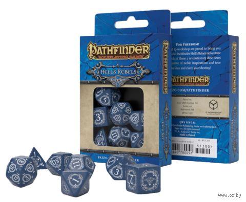 """Набор кубиков """"Pathfinder. Hell's Rebels"""" (7 шт.) — фото, картинка"""