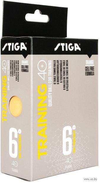 """Мячи для настольного тенниса """"Training ABS"""" (6 шт.; оранжевые) — фото, картинка"""