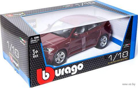 """Модель машины """"Bburago. BMW X6"""" (масштаб: 1/18) — фото, картинка"""