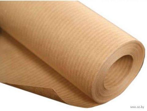 """Бумага упаковочная в рулоне """"Brown Craft"""" (цвет: коричневый)"""