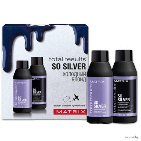 """Подарочный набор """"Total Results So Silver"""" (шампунь, кондиционер) — фото, картинка"""