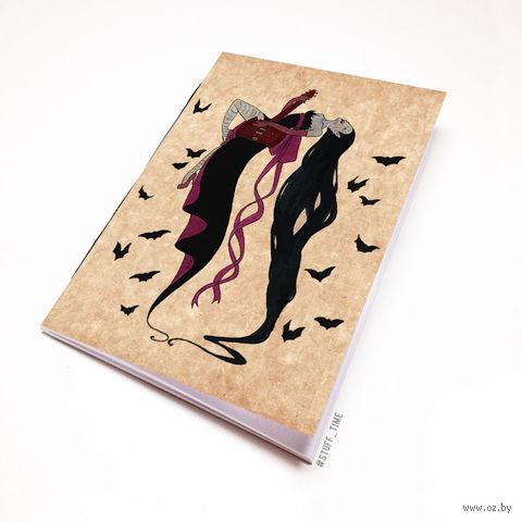 """Блокнот крафт """"Время приключений. Марселин"""" А5 (арт. 303)"""