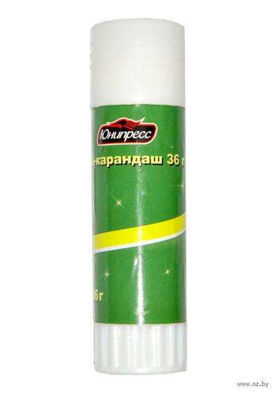 Клей-карандаш (36 г; арт. Ю-31007)