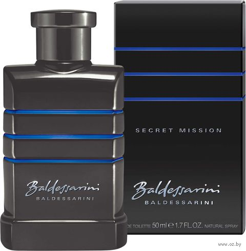 "Туалетная вода для мужчин Boss Baldessarini ""Secret Mission"" (50 мл)"