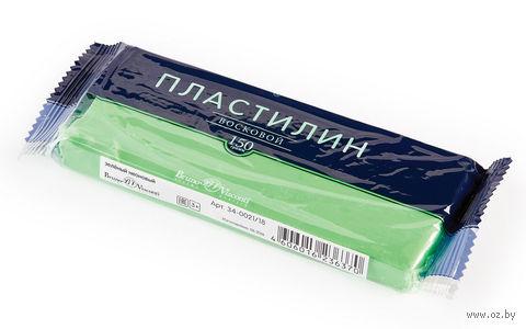 Пластилин восковой (150 г; зеленый неоновый) — фото, картинка