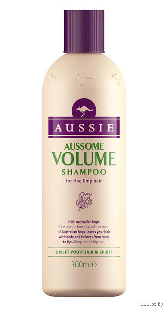 """Шампунь для волос """"Aussome Volume"""" (300 мл) — фото, картинка"""