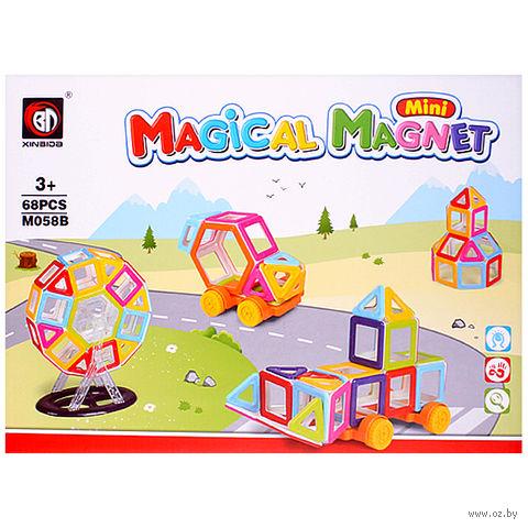 """Конструктор магнитный """"Megical Magnet"""" (68 деталей; арт. DV-T-609) — фото, картинка"""