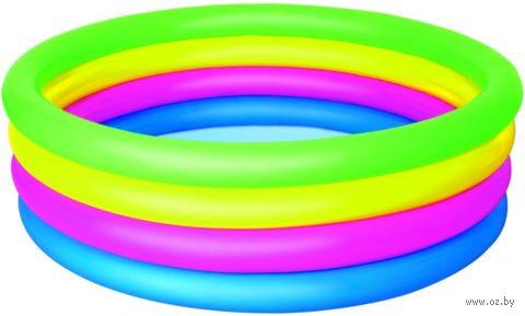 """Бассейн надувной """"Разноцветный"""" (157х46 см) — фото, картинка"""
