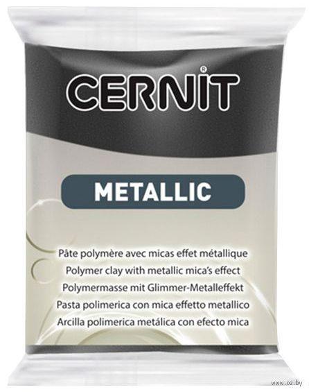 """Глина полимерная """"CERNIT Metallic"""" (красный железняк; 56 г) — фото, картинка"""
