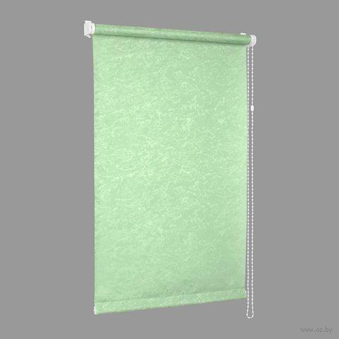 """Штора рулонная """"Сантайм. Венеция"""" (68х170 см; мята) — фото, картинка"""