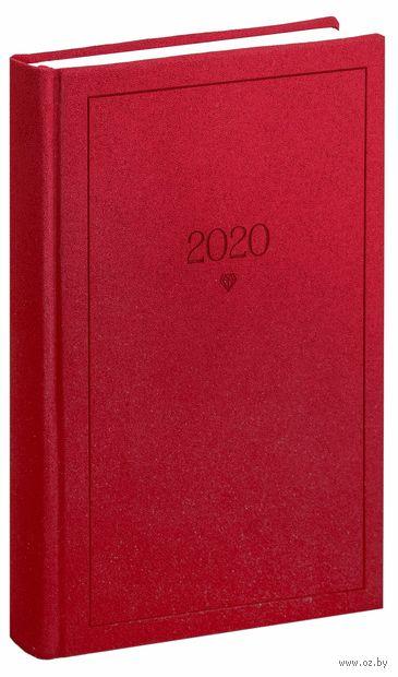 """Ежедневник датированный """"Brilliance"""" (А5; красный; 2020) — фото, картинка"""