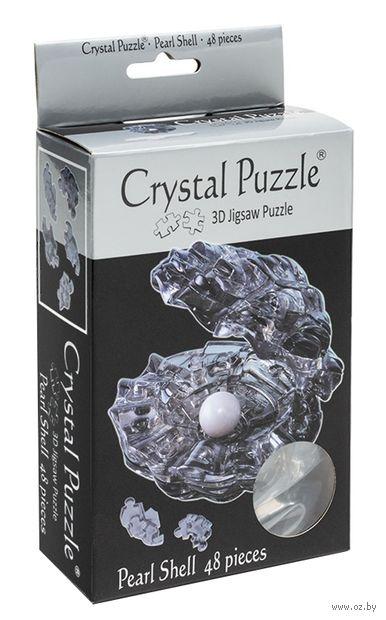 """Пазл-головоломка """"Crystal Puzzle. Черная жемчужина"""" (48 элементов)"""
