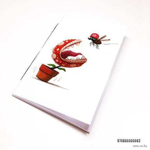 "Блокнот белый ""Марио"" А7 (арт. 862)"