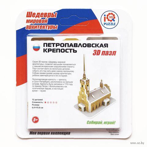 """Сборная модель """"Петропавловская крепость"""""""