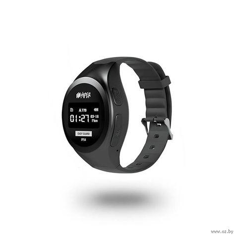 Умные часы Hiper EasyGuard (черный) — фото, картинка