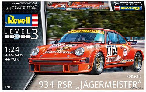 """Сборная модель """"Автомобиль Porsche 934 RSR """"Jagermeister"""" (масштаб: 1/24) — фото, картинка"""