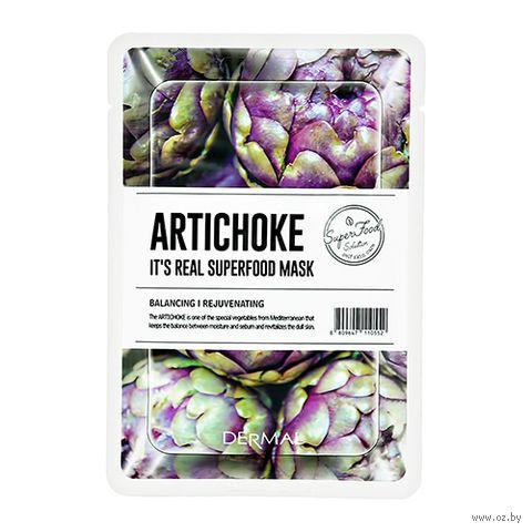 """Маска для лица """"Superfood. Artichoke"""" (25 мл) — фото, картинка"""