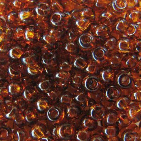 Бисер прозрачный №10110 (темно-янтарный)
