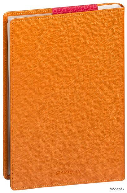 """Еженедельник """"City"""" на 2017 год (large; оранжевая обложка)"""