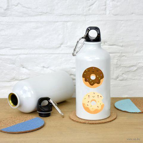 "Бутылка ""Пончики"" (500 мл; арт. 495) — фото, картинка"