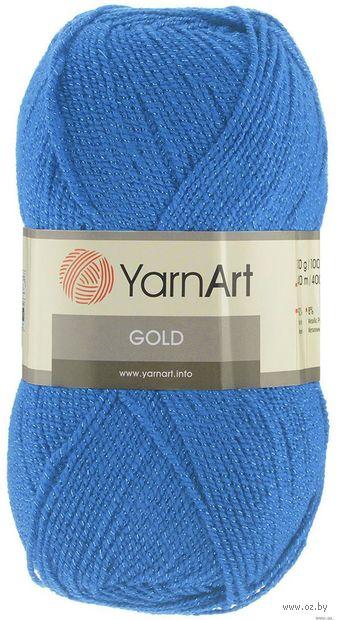 """Пряжа """"YarnArt. Gold №9376"""" (100 г; 400 м; лесной колокольчик) — фото, картинка"""