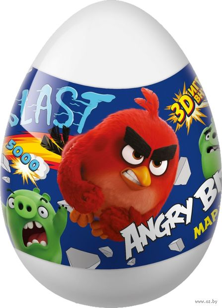 """Мармелад с игрушкой """"Angry Birds"""" (10 г) — фото, картинка"""