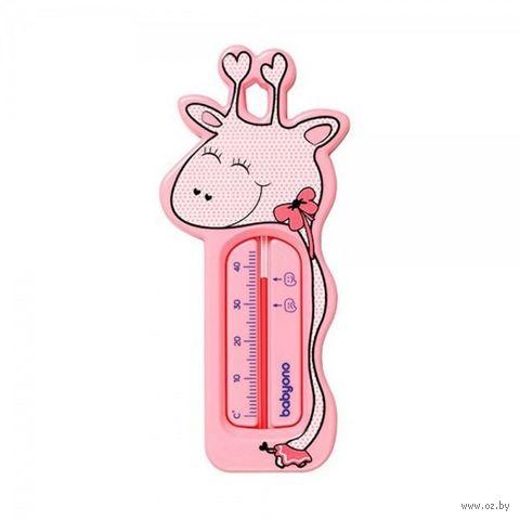 "Термометр ""Жираф"" (розовый) — фото, картинка"
