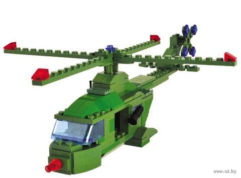 """Конструктор """"SuperBlock. Военные маневры. Вертолет"""" (160 элементов)"""
