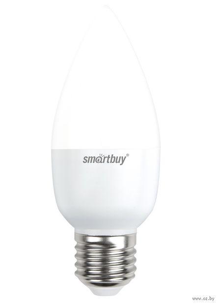 Лампа Светодиодная (LED) Smartbuy-C37-07W/3000/E27