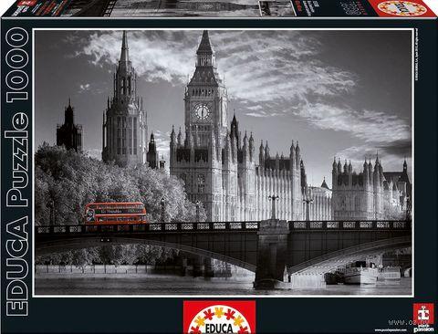 """Пазл """"Лондонский автобус"""" (1000 элементов) — фото, картинка"""