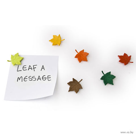 "Набор магнитов ""Leaf a Message"" (6 шт.)"
