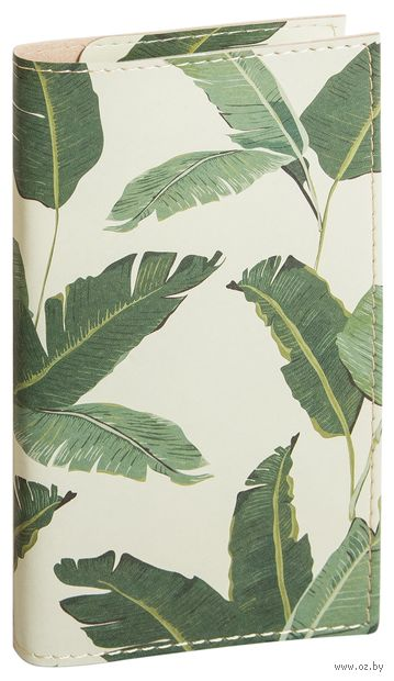 "Ежедневник ""Tropical Print"" (93х175 мм) — фото, картинка"