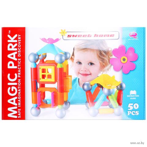 """Конструктор магнитный """"Magic Park"""" (50 деталей; арт. DV-T-605) — фото, картинка"""
