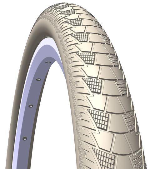 """Покрышка для велосипеда """"Cityhopper APS+RS"""" (28""""x2; кремовая) — фото, картинка"""