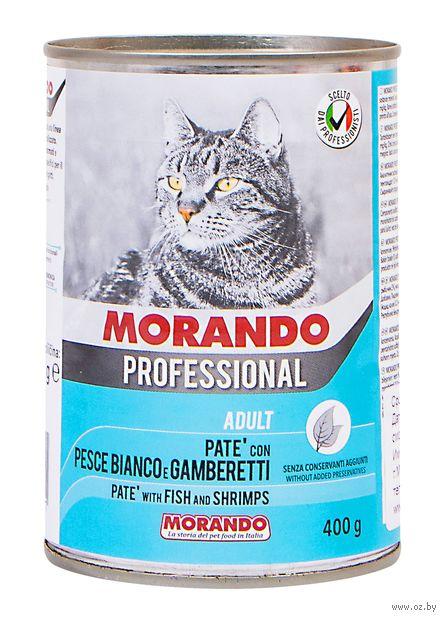 """Консервы для кошек """"Gatto"""" (400г; рыба и креветки) — фото, картинка"""