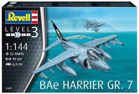 """Сборная модель """"Штурмовик BAe Harrier GR. 7"""" (масштаб: 1/144) — фото, картинка"""