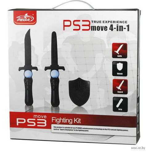 PS 3 Набор 4 в 1 Fighting Kit для PS Move (PG-PM006)