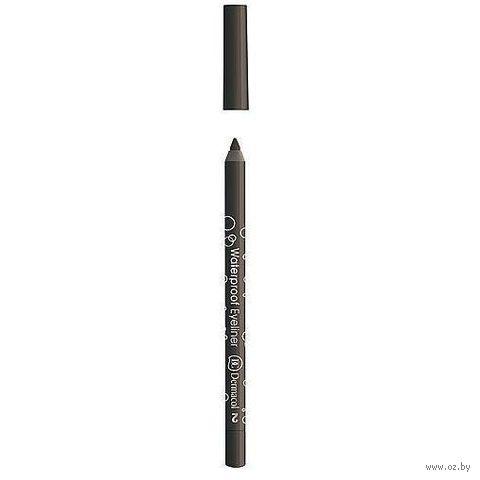 Водостойкий карандаш для век (тон: коричневый)