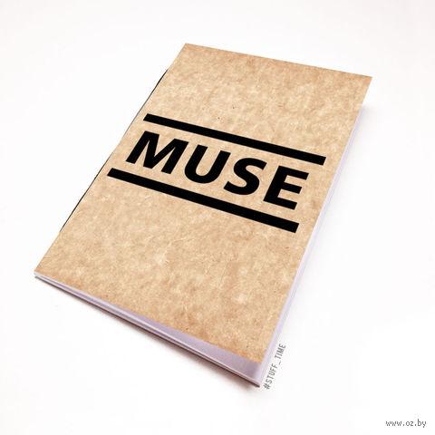 """Блокнот крафт """"MUSE"""" А7 (091)"""