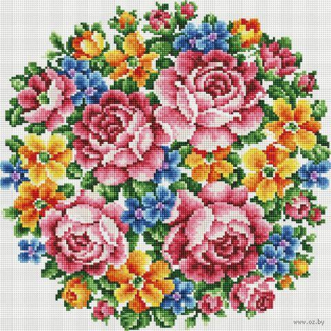 """Алмазная вышивка-мозаика """"Большое счастье"""" (400х400 мм) — фото, картинка"""