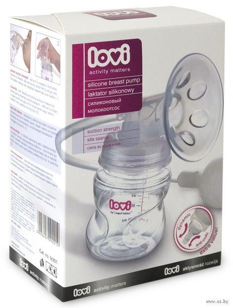 Молокоотсос грушевый силиконовый для тугой неразработанной груди (арт. 9/201)