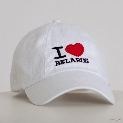 "Бейсболка Vitaem ""I LOVE BELARUS"""